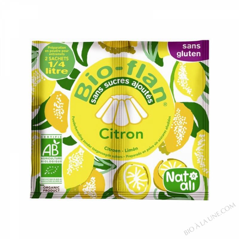 Bioflan Citron sans sucre 7g