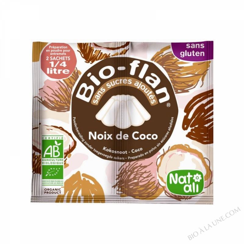 Bioflan Noix de Coco sans sucre 8g