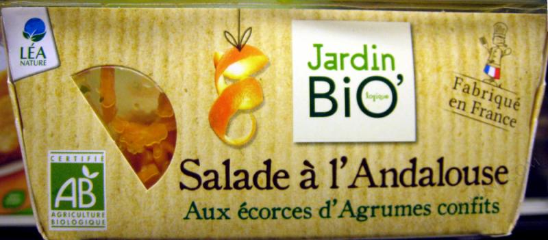SALADE À L'ANDALOUSE AUX ÉCORCES D'AGRUMES CONFITS - 160G