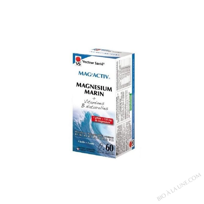 Mag'activ Magnesium marin + vita.B 60 gel