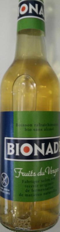 BIONADE AUX FRUITS DU VERGER - 33CL