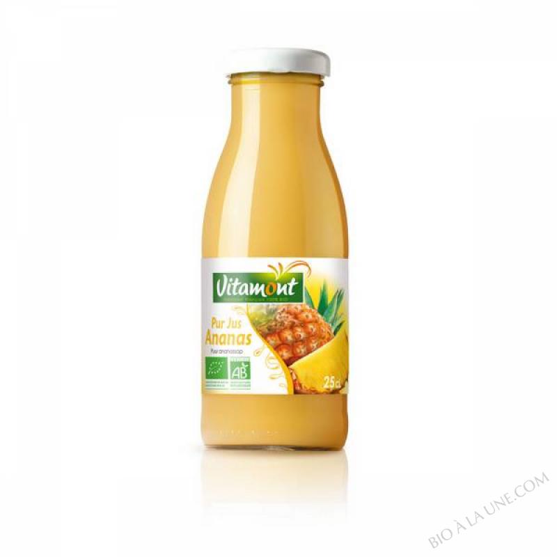 Mini Pur Jus d'Ananas Bio 25cL