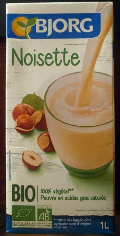 Boisson végétale Noisette - 1L