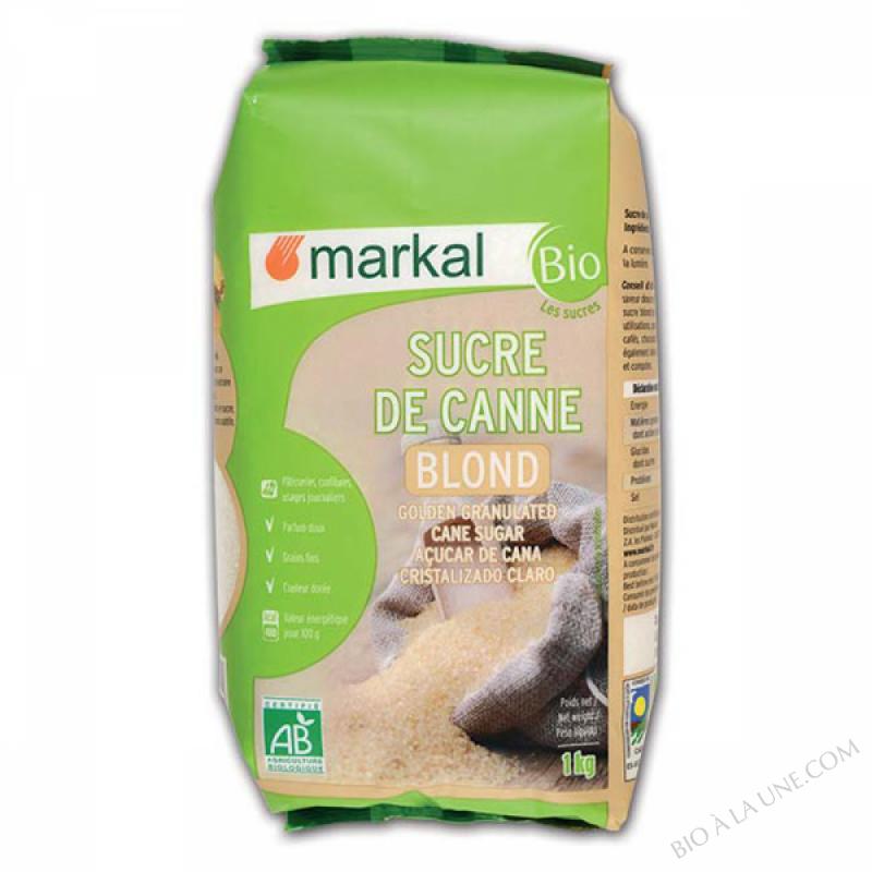 Sucre blond de canne - 1kg