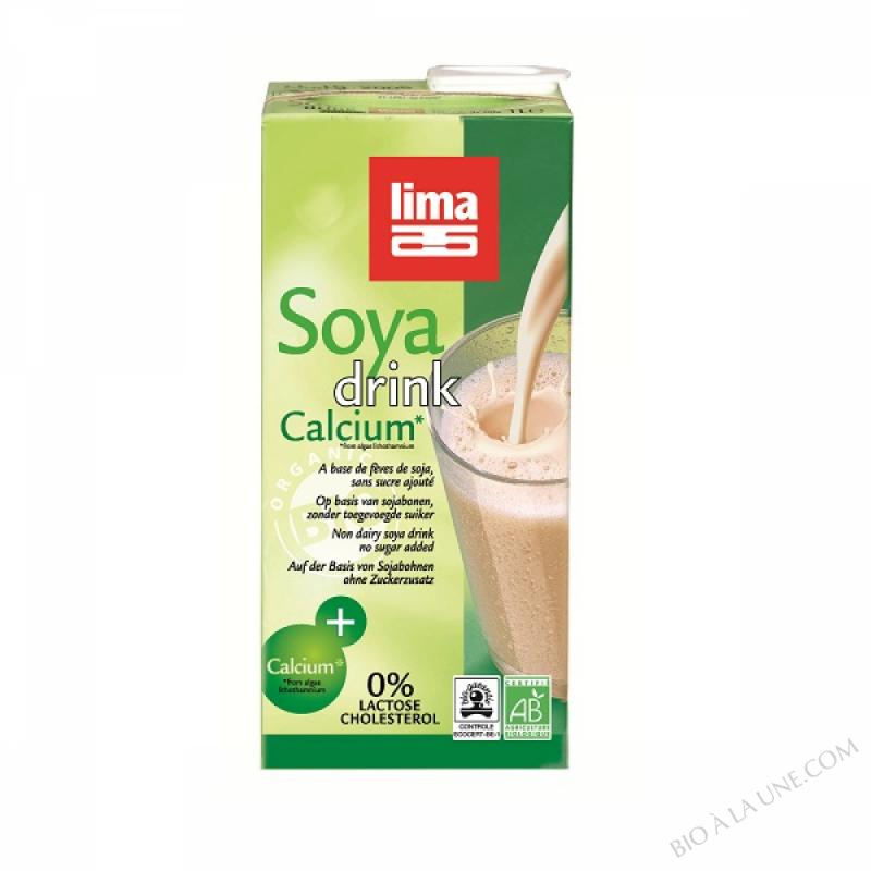 Boisson Vegetale Bio à base de Soja Calcium 1L