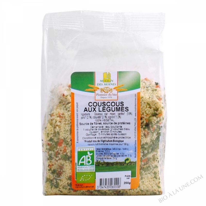Couscous clair aux legumes - 250g