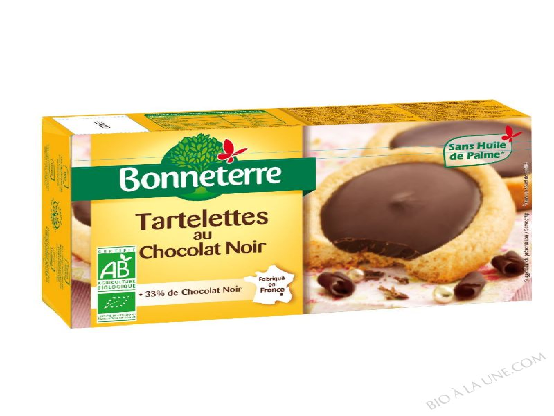 TARTELETTES CHOCOLAT NOIR BIO 125G