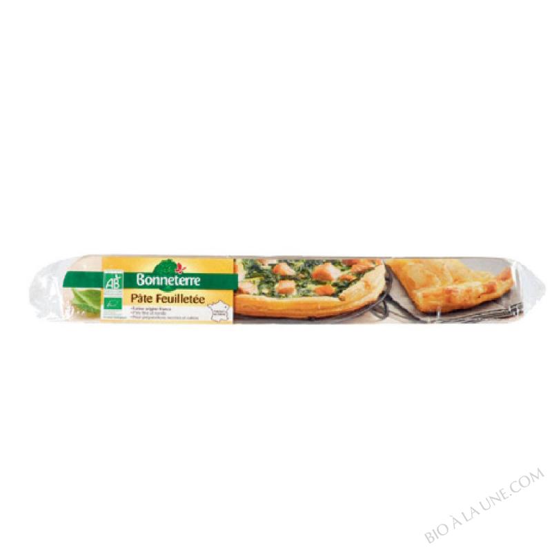 Pâte à Tarte feuilletée prête à dérouler