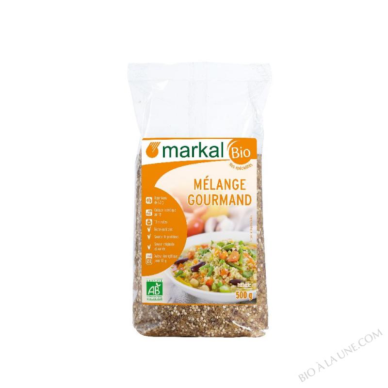 Mélange gourmand (boulgour quinoa épeautre)