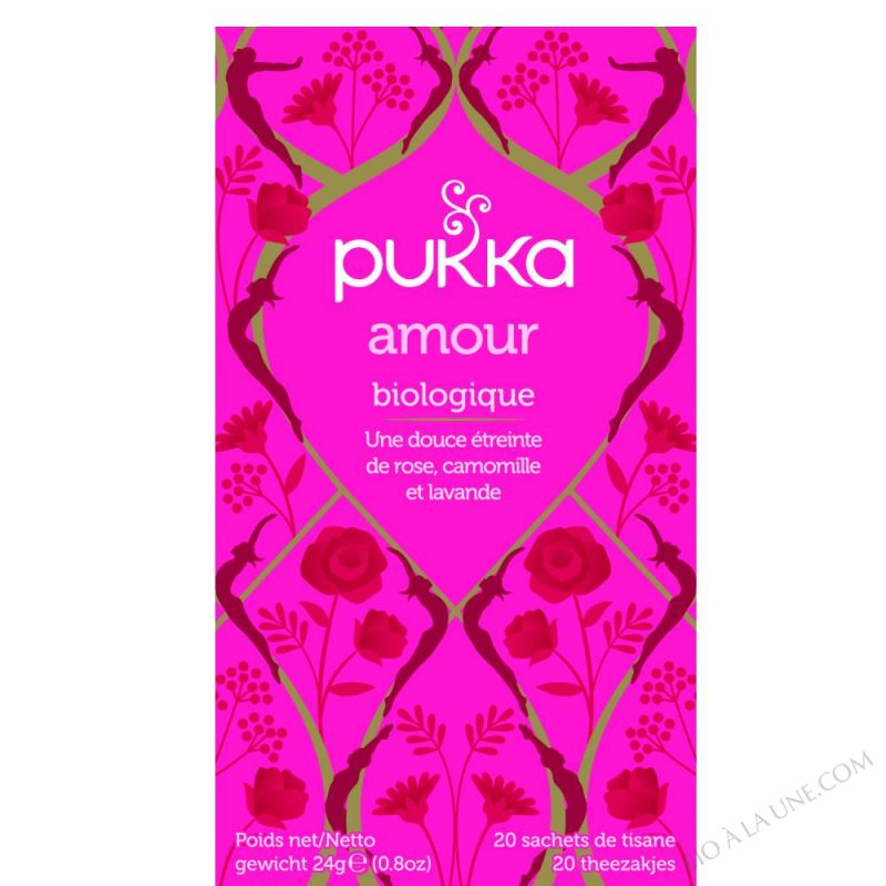 Tisane Love Rose Camomille BIO 20 sachets