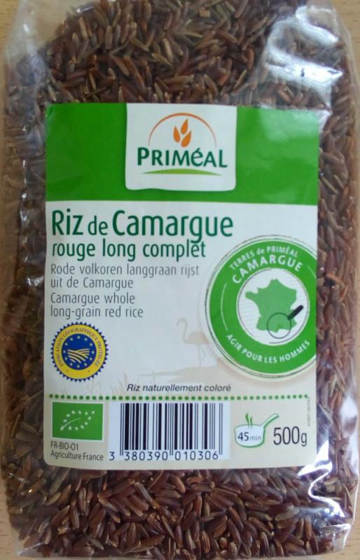 Riz Rouge Long de Camargue 500 g