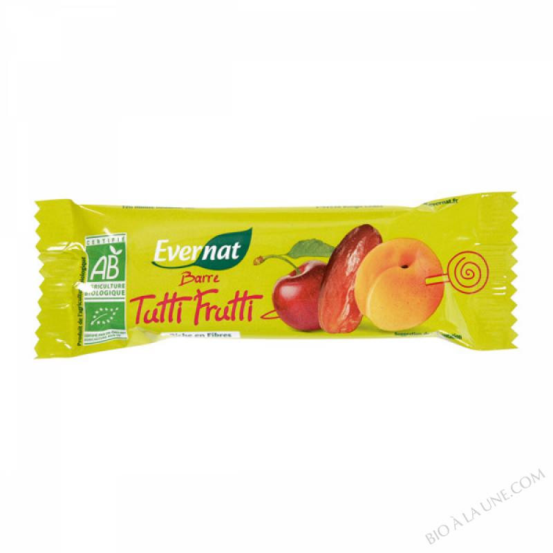 Barre tutti frutti 40g