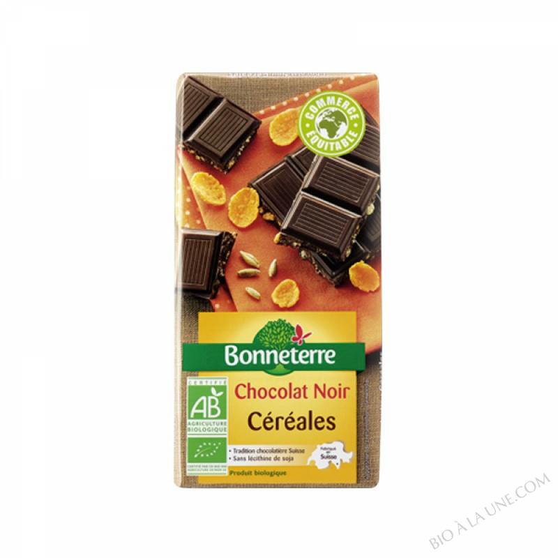 Chocolat Noir Cereales 100gr