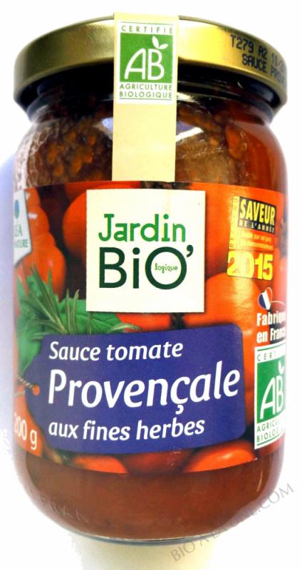 Sauce tomate provençale 200gr