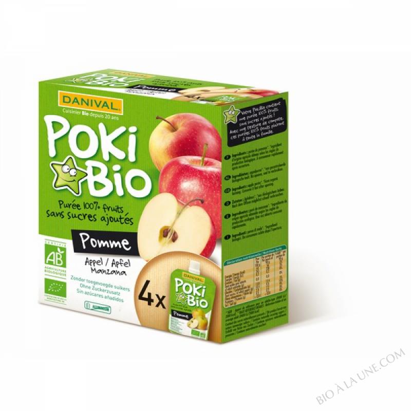 Poki pommes BIO 4 x 90g