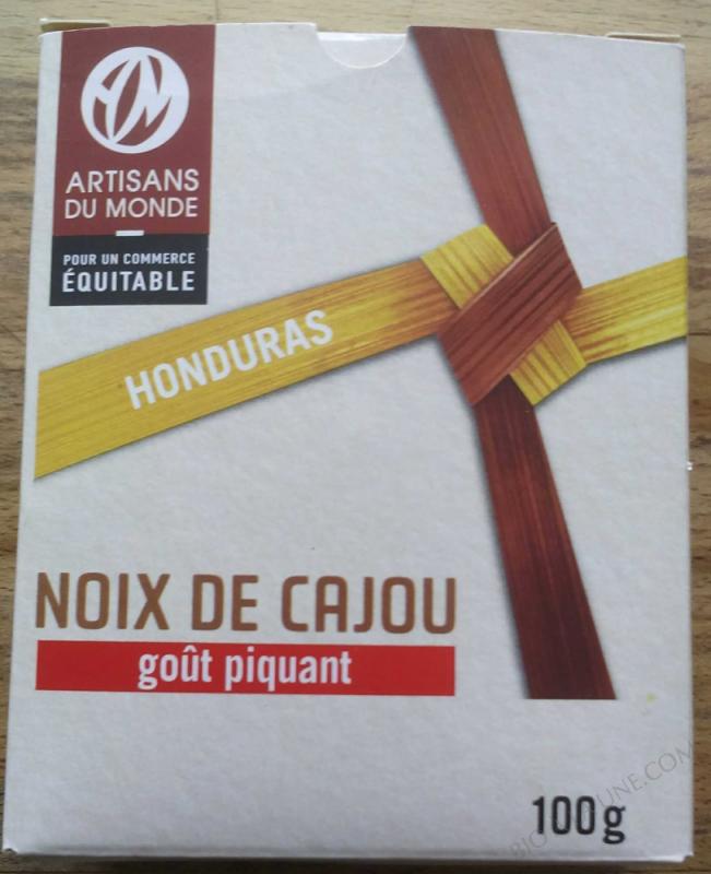 Noix de Cajou Bio Piquante