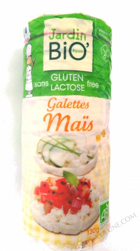 Galettes de mais sans gluten 130g