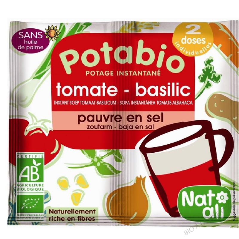 POTABIO TOMAT/BASILIC 2X8G NATALI