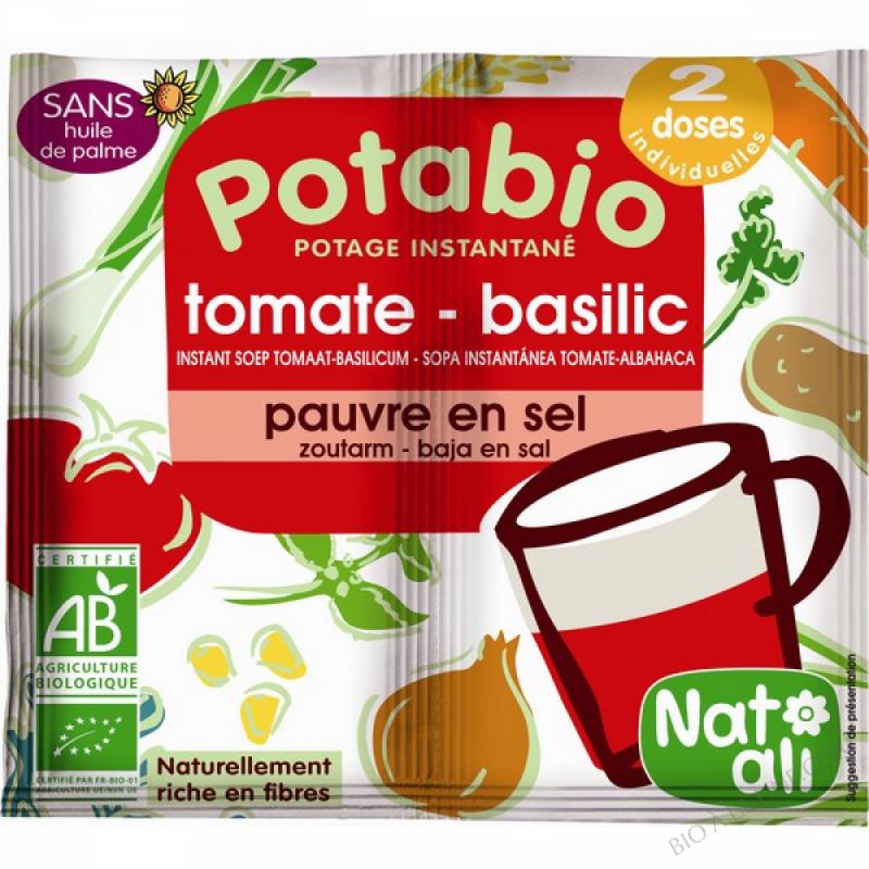 Potage Bio Tomate Basilic 2 x 8.5 gr