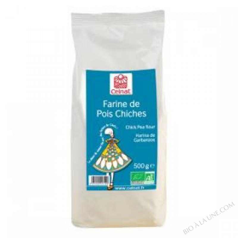CELNAT Farine de Pois Chiches BIO - 3KG