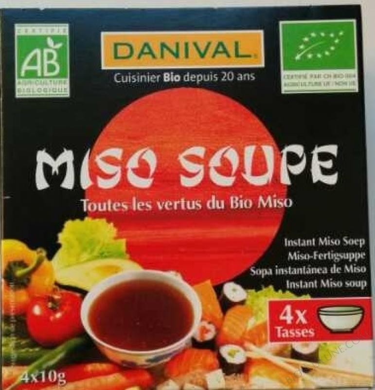 Soupe de Miso bio 4 x 10g
