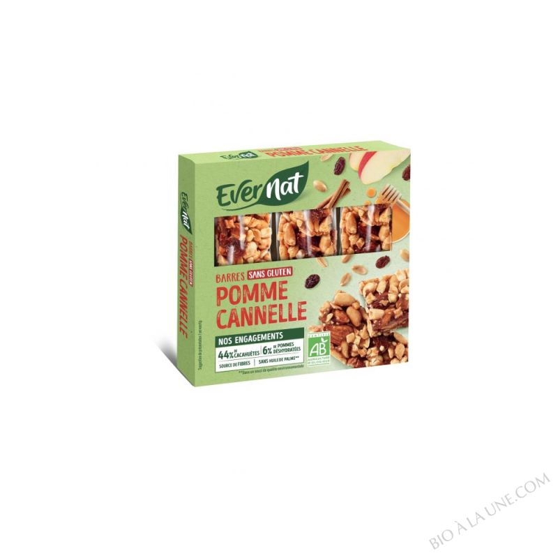 Barres Pomme Cannelle 3x25g