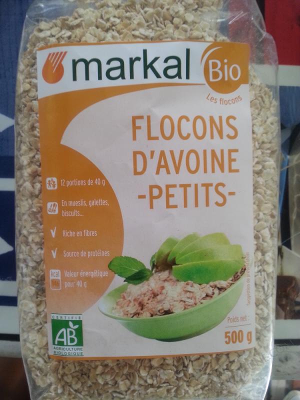 Flocons d'Avoine Petits - 500g