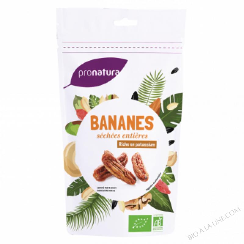 Bananes entieres sachet 250g