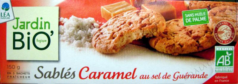 SABLES CARAMEL AU SEL DE GUERANDE 150GR