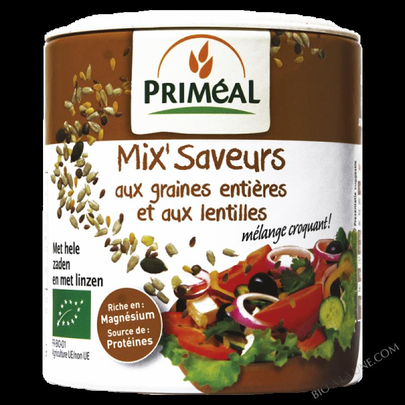 Mix'Saveurs aux graines entières et aux lentilles - 110 g
