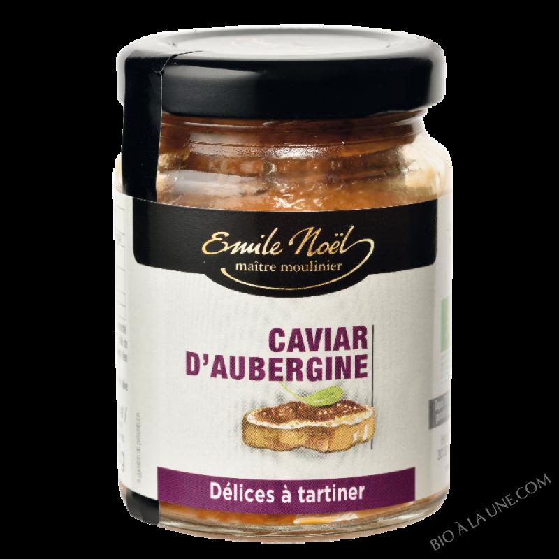 Caviar d'aubergine bio - 90g