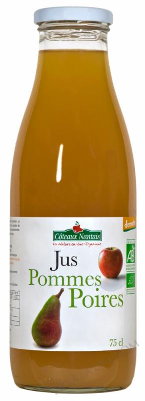 Jus pommes poires 75 cl Demeter