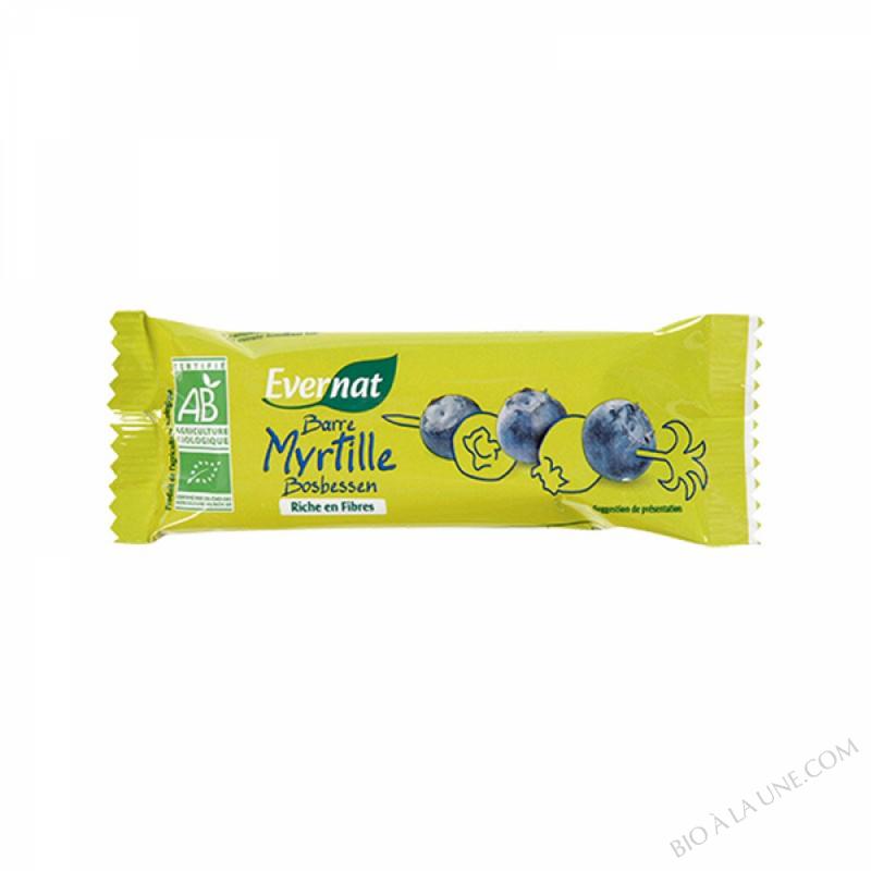 Barre myrtille 40g