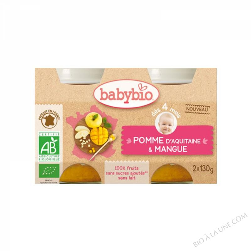 BABYBIO Pot Mangue Pomme