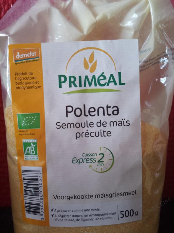 polenta - semoule de mais - 500 g