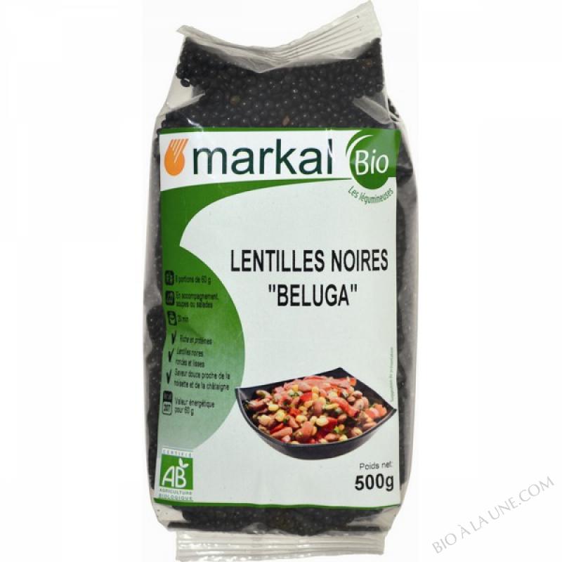 LENTILLES NOIRES BELUGA - 500g