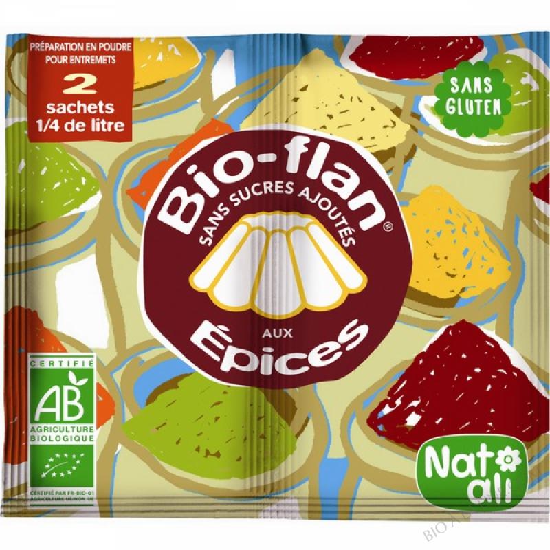 Bioflan Epices sans sucre 8g