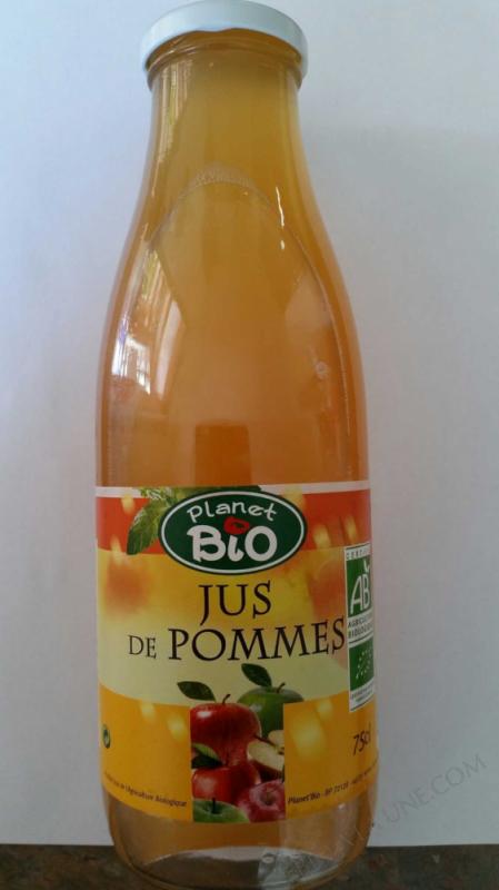 Jus pommes Bio et Demeter 75cl