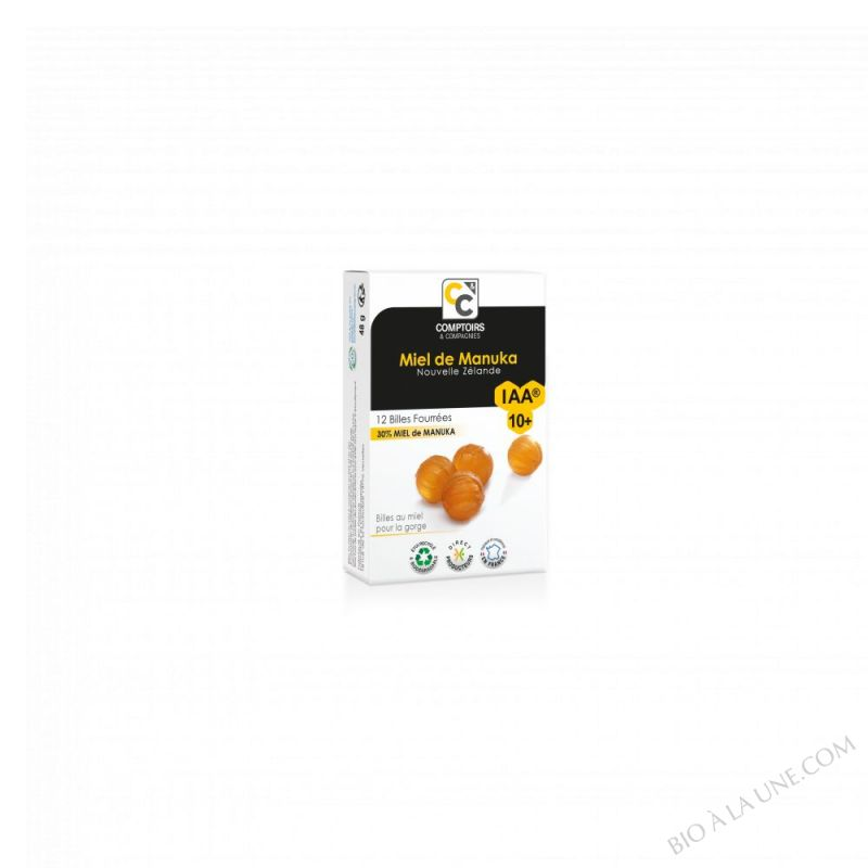 Billes fourrees 30% Miel de Manuka - 54g