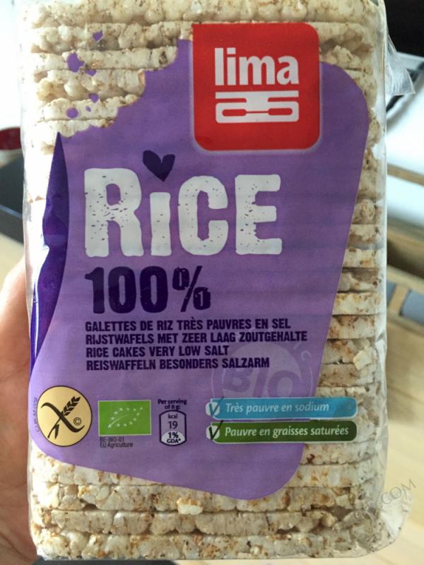 Galettes fines de riz sans sel 130g