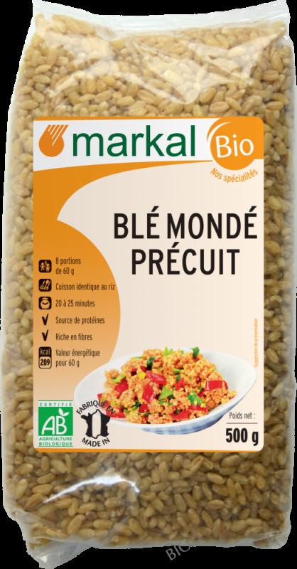 BLÉ MONDÉ PRÉCUIT - 500g