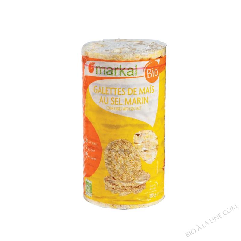 Galettes de maïs au sel marin