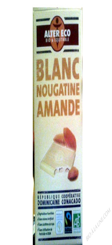 Chocolat Blanc Croustillant Bio 100g
