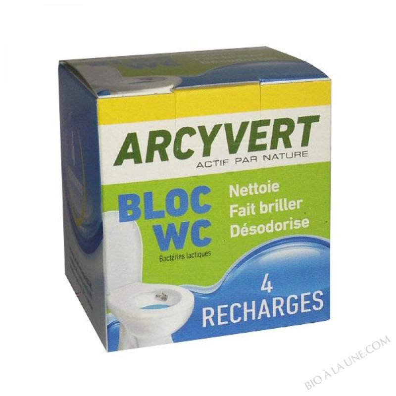 4 Recharges Bloc WC