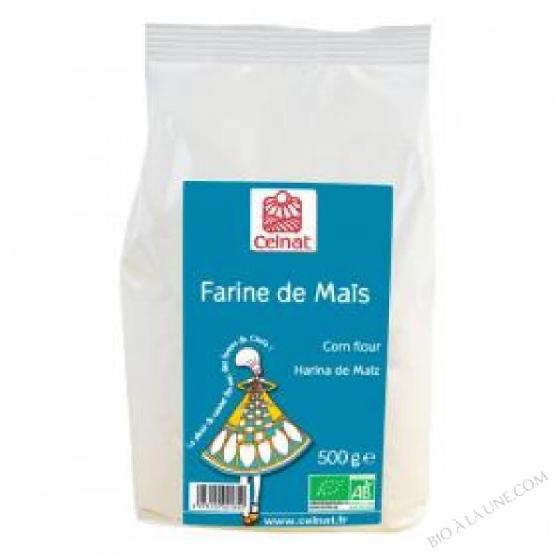 CELNAT Farine de Maïs BIO - 3KG