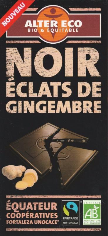 Noir éclats de gingembre