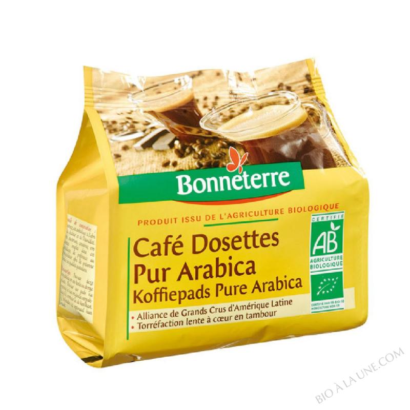 CAFE DOSETTES PA 125G BONNETERRE