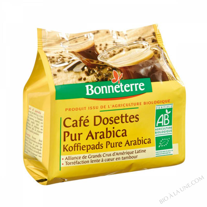 CAFE DOSETTES PUR ARABICA 125G