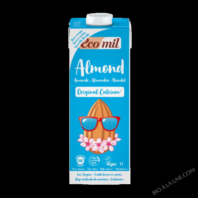 Lait d'amande calcium Original Bio 1L