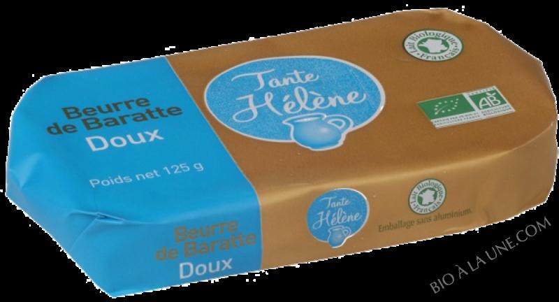 BEURRE BARATTE MOULE DOUX 125G TANTE HELENE